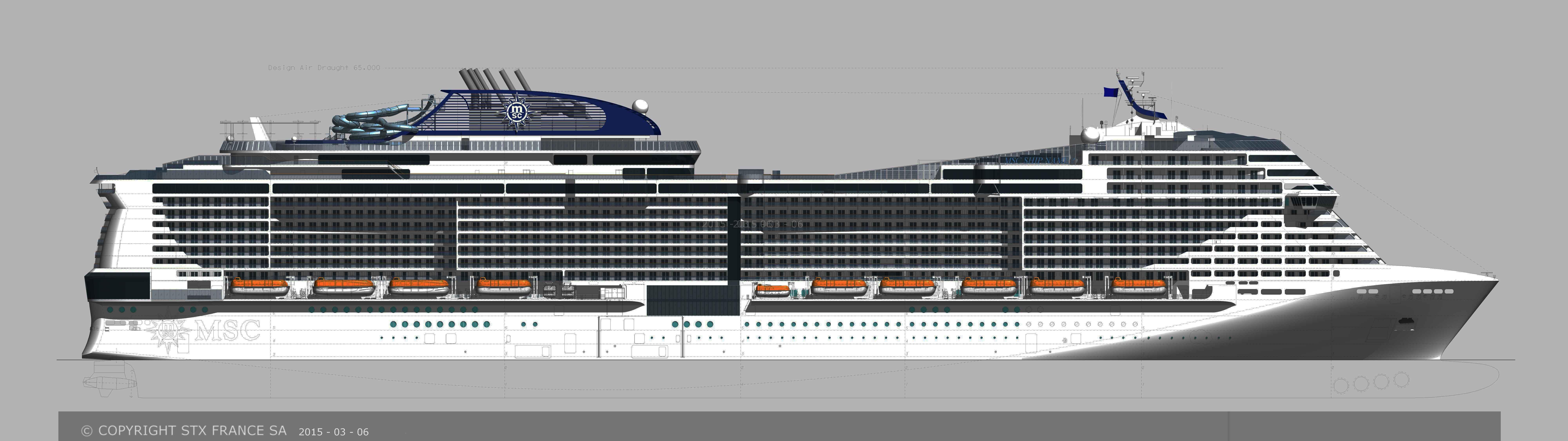 Msc Cruises First Next Generation Ship Named Msc