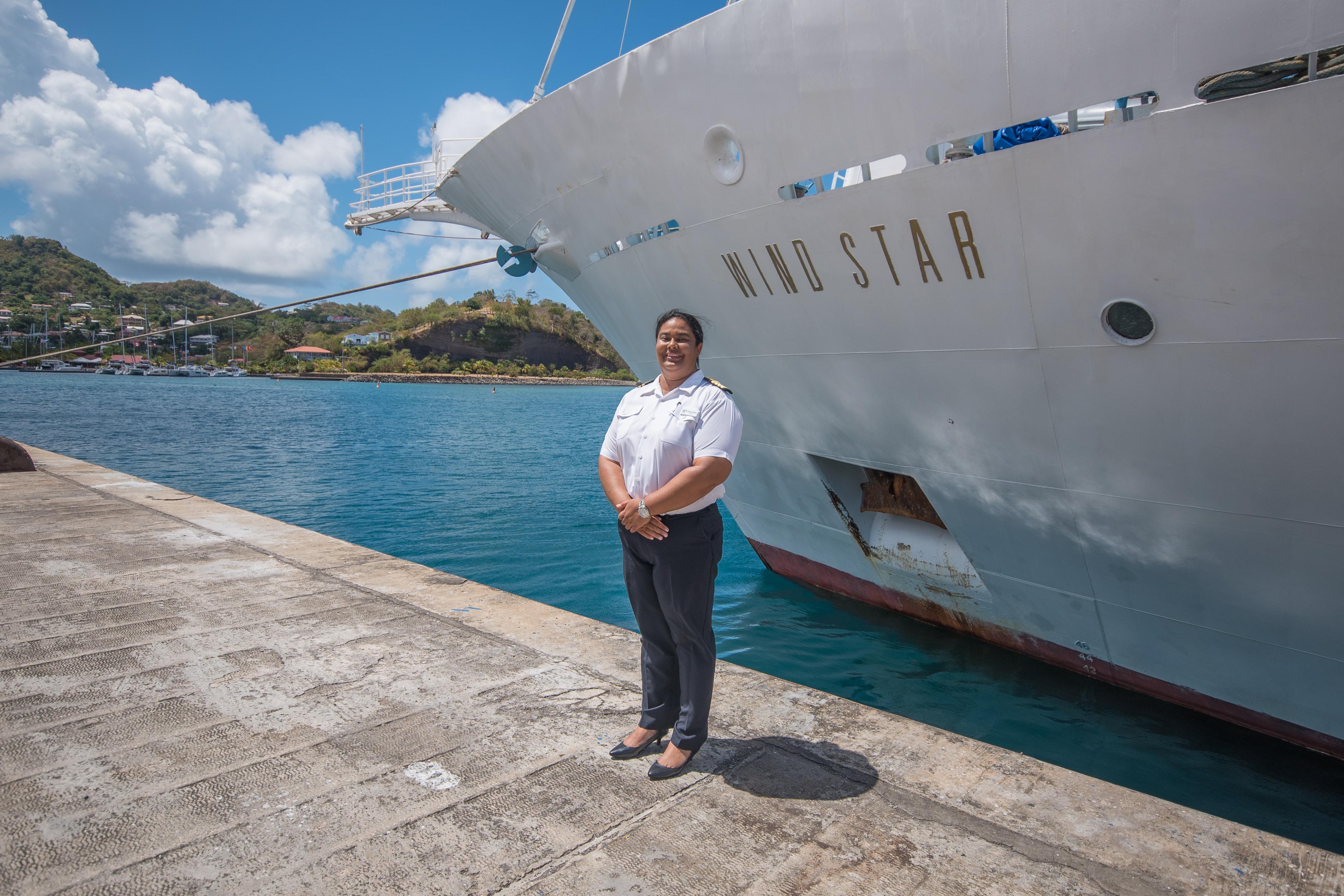 Windstar Names First Female Captain Belinda Bennett ... Belinda Bennett
