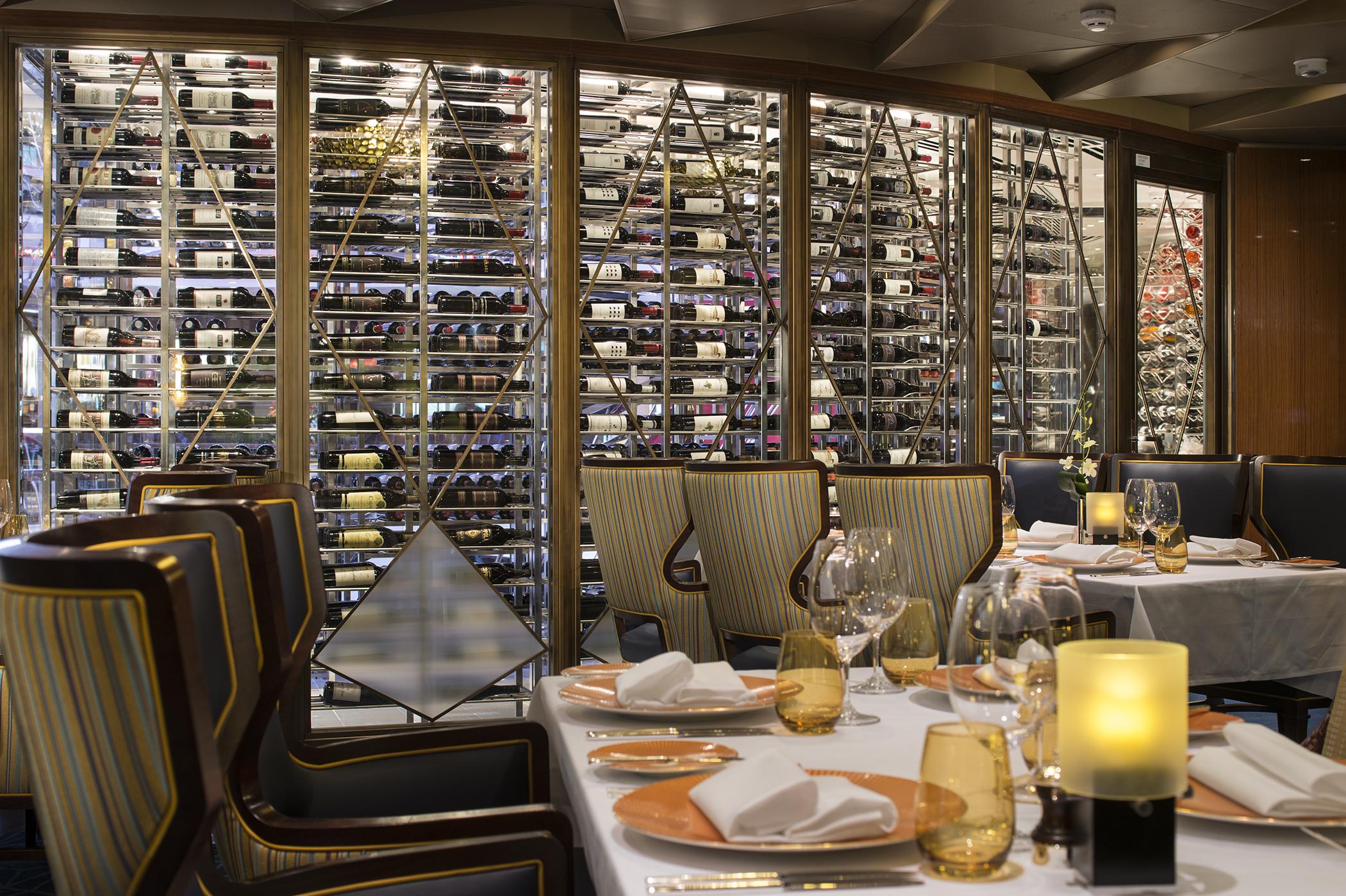 Pinnacle Grill Wine Cellar